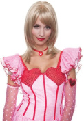 Costumes For All Occasions PM579405 Angelina Wig Honey Red French
