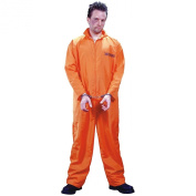 Costumes For All Occasions FW1130 Got Busted Jumpsuit - Orange