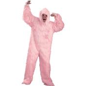 Pink Gorilla Adult Halloween Costume, Size