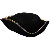 Costumes For All Occasions GC30 Tricorn Hat Economy 1Size Lrg