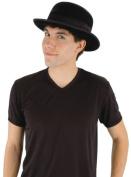 Costumes For All Occasions ELA6611 Bowler Black Velvet Hat
