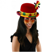 Costumes For All Occasions ELA6612 Clown Bowler Hat