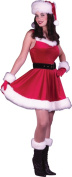 Costumes For All Occasions FW7577SD Santa Ms Bax Dress sm Medium