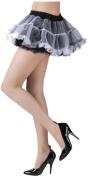 Tutu Skirt Black/White