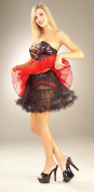 Costumes For All Occasions Fm59513 Crinoline Black Ad 19 Length