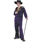 Costumes For All Occasions FW1108PR Big Daddy Purple
