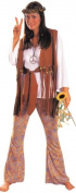 Hippie Love Child Adult Halloween Costume, Size