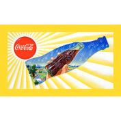Sun & Rain Coke Bottle - 15X28 Inch Stretched Canvas Print