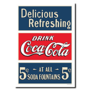 "Soda Fountian Stretched Canvas Art 24 x 32""es"