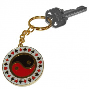 Poker 10-552010 Yang Key Chain Key Chain