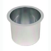Jumbo Aluminium SILVER Poker Table Cup Holder