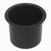 Jumbo Aluminium BLACK Poker Table Cup Holder