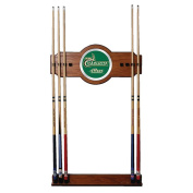 University of N.C. Charlotte Wood & Mirror Wall Cue Rack