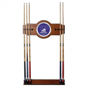 Texas Christian University Wood & Mirror Wall Cue Rack