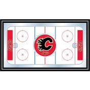 NHL Calgary Flames Framed Hockey Rink Mirror