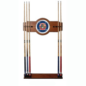 NHL Florida Panthers 2 piece Wood and Mirror Wall Cue Rack
