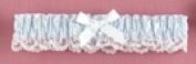 Hortense B. Hewitt 73007 Lt Blue Ribbon & Lace Garter
