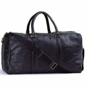 """Italian Stone Design 21""""Leather Duffle Bag"""