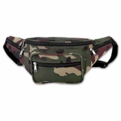 BNF LUCAMWB Extreme Pak Invisible Pattern Camo Water Repellent Waist Bag