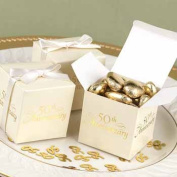 Hortense B. Hewitt 30195 50th Anniversary Favor Boxes