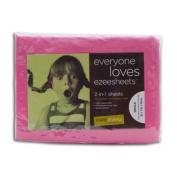 Ezeesheets 2-in-1 Single Sheet Set Pink