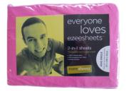 Ezeesheets 2-in-1 King Single Sheet Set Pink