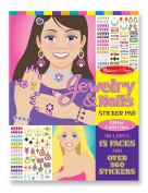 Melissa & Doug Jewelry & Nails Glitter Collection Sticker Pad