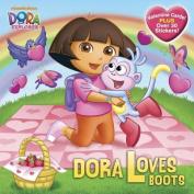Dora Loves Boots (Dora the Explorer) (Pictureback