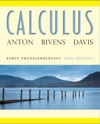 Calculus Early Transcendentals 10E + WileyPlus Registration Card