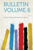 Bulletin Volume 6 [FRE]