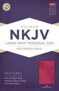 Large Print Personal Size Reference Bible-NKJV [Large Print]