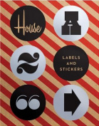 House Industries Labels & Stickers  : Over 299 Typographic Stickers for Decor and Design