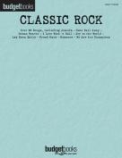 Budget Books Classic Rock Easy Piano Songbook Pf Bk