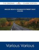 English-Bisaya Grammar in Twenty Eight Lessons - The Original Classic Edition