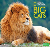 2014 National Geographic Big Cats Deluxe Wall