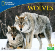 2014 National Geographic Wolves Deluxe Wall