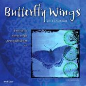 Butterfly Wings Wall Calendar
