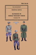 Handbook on German Military Forces 1943
