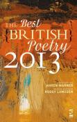 The Best British Poetry 2013