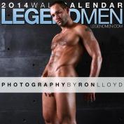 2014 Legend Men Wall Calendar