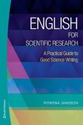 English for Scientific Research