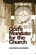 God's Mandate for the Church