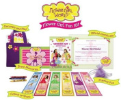 Flower Girl Fun Kit [With Practice Petals, Practice Basket, Memory Scrapbook and Crayons and 6 Collectible Bookmarks an