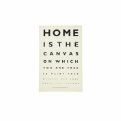 Home Eye Test Linen Tea Towel