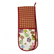 Christmas Cats Double Oven Glove