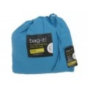 Ezeesheets bag-it! Single Fitted Sheet Turquoise