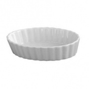 HIC Porcelain 12.7cm Oval Creme Brulee Dish, 1 ea