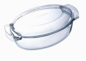 Pyrex Glass Oval Casserole, 4.5L
