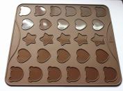 27 Cavity Cartoon Macarons Mat Baking mould