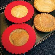 Reusable Silicone Mini Pie Shield - Prevents Burned Crust